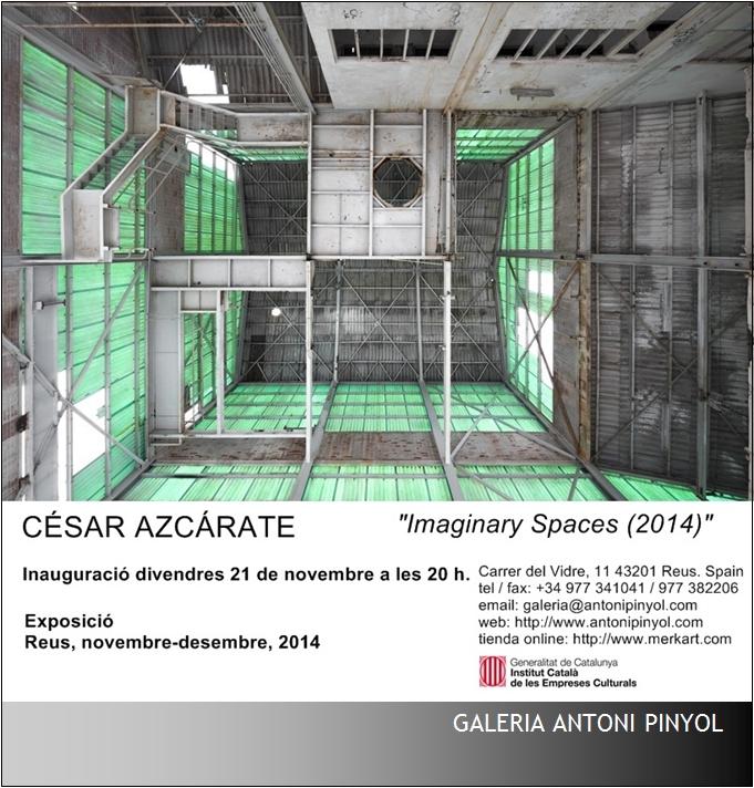 antoni pinyol gallery, reus, nov-dec 2014 - cesar azcarate, photography