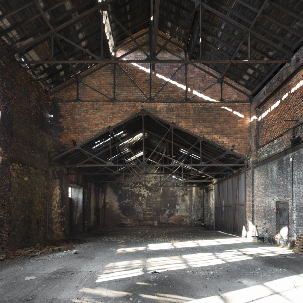 inside - DERELICT TIPOLOGIES (2) - cesar azcarate, photography