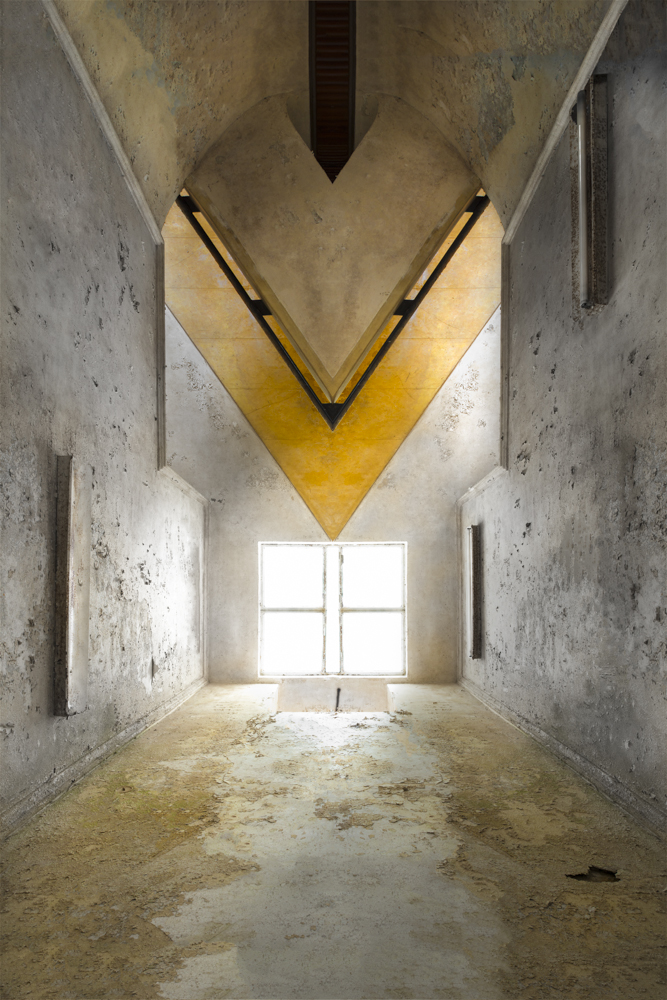 path to the  abyss - IMAGINARY SPACES (2) - cesar azcarate, photography