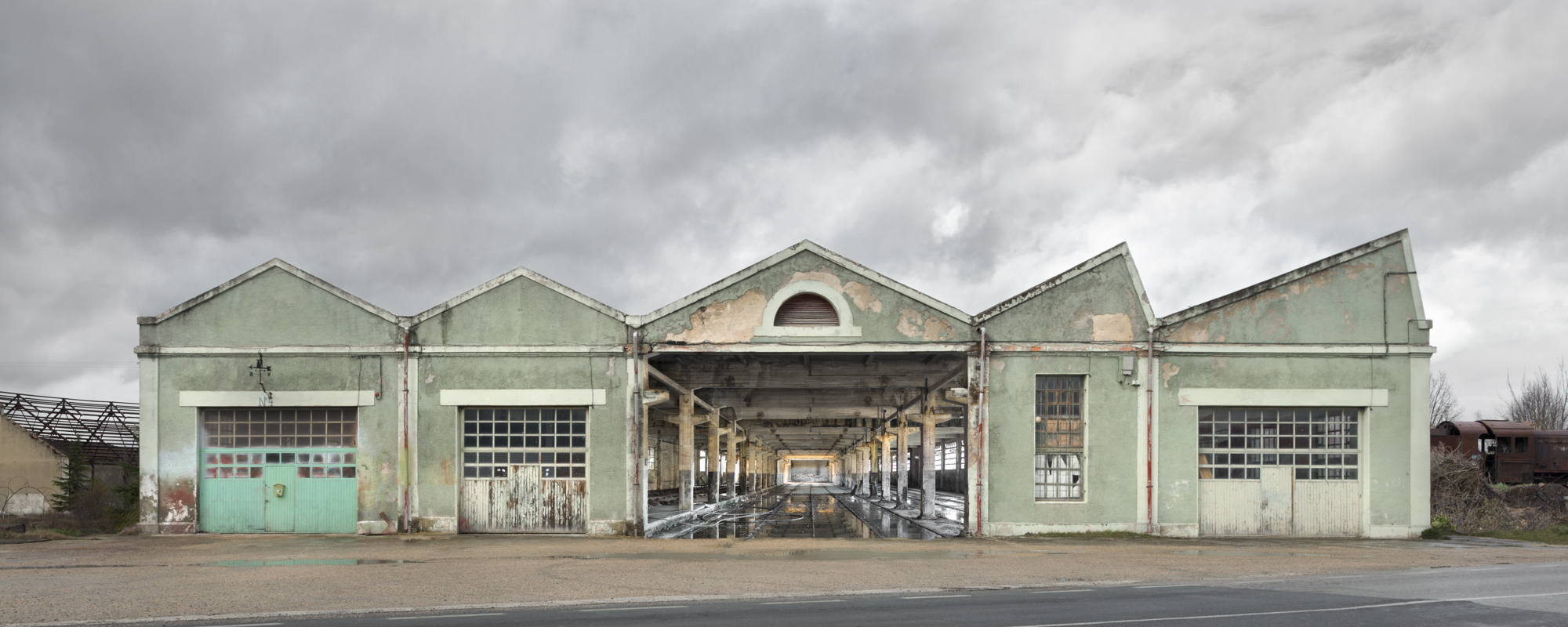 sixties green factory - AVAILABLE NOWHERE - cesar azcarate, photography