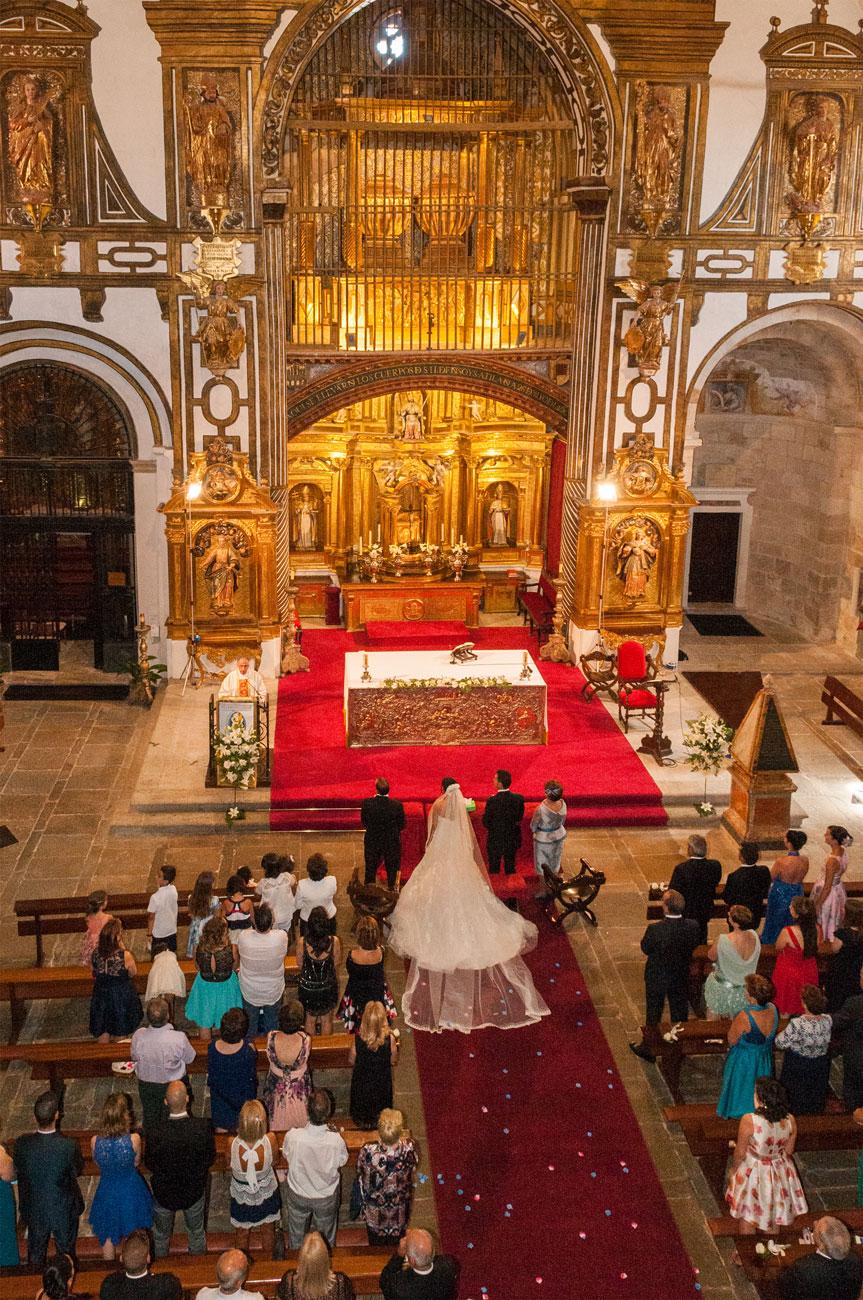 Carlos y Yoly, iglesia San Ildefonso, Zamora - Vicente Calvo Coria, vídeo y fotografía, Zamora