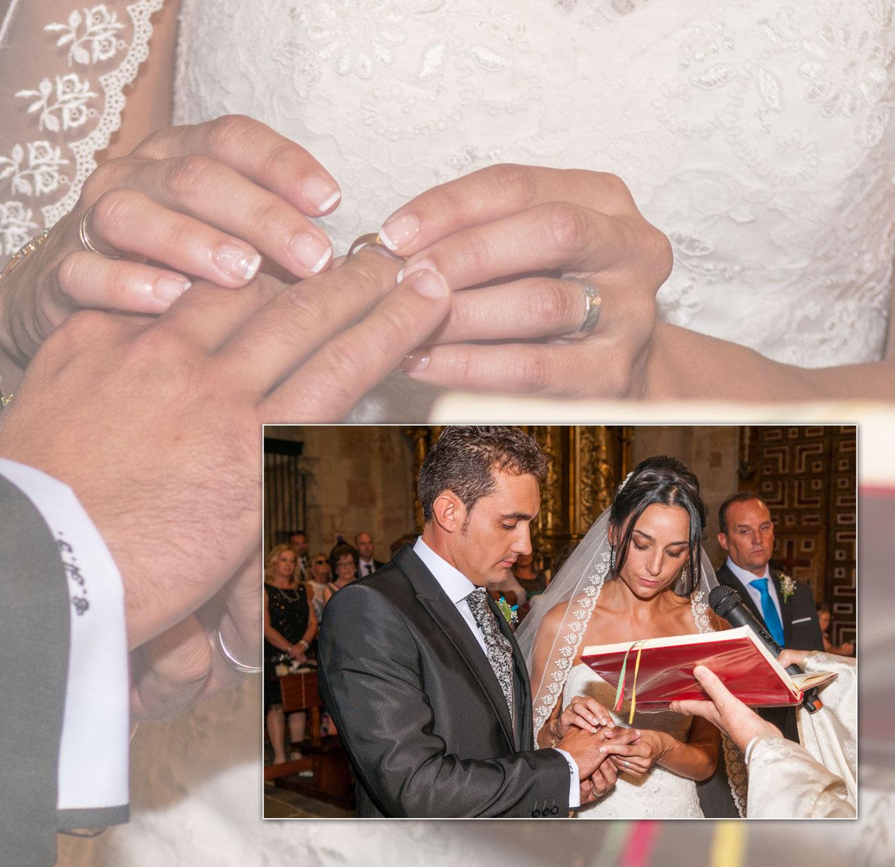 parte de una página del álbum - Carlos y Yoly, iglesia San Ildefonso, Zamora - Vicente Calvo Coria, vídeo y fotografía, Zamora