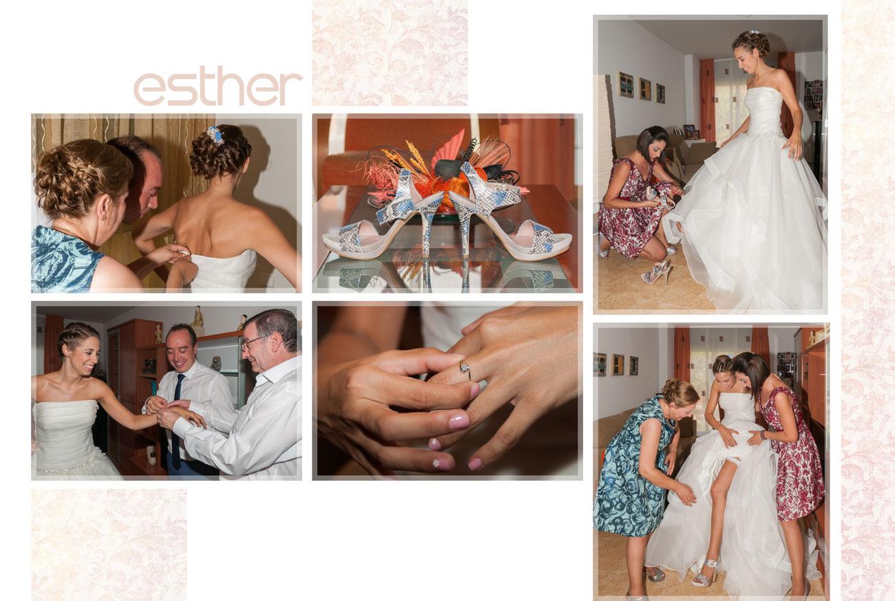 Página del álbum - Santi y Esther, San Juan, Zamora - Vicente Calvo Coria, vídeo y fotografía, Zamora