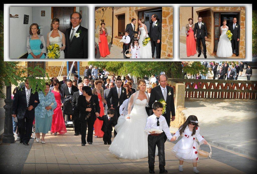d9791919e7 Salida de la casa de la novia y llegando a la Iglesia