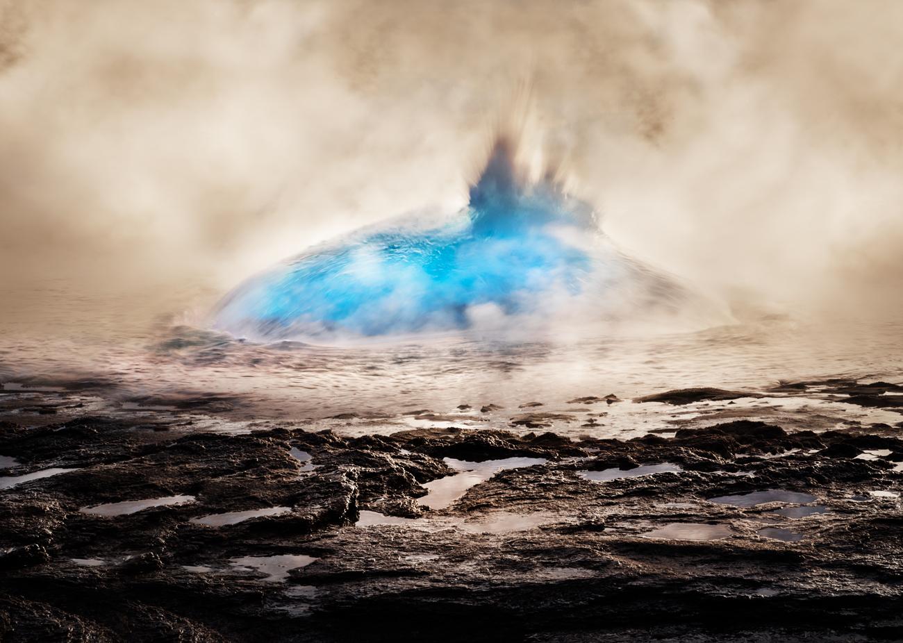 Strokkur (Haukadalur Geothermal Area, Sudurland Region - 2015) - Strokkur (Haukadalur Geothermal Area, Sudurland Region - 2015) - Icelandica   Dani Vottero, Travel Photography