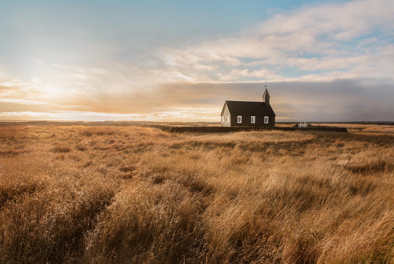 Black Church (Snaefellsness Pensinsula, Vesturland Region - 2015) - Black Church (Snaefellsness Pensinsula, Vesturland Region - 2015) - Icelandica | Dani Vottero, Travel Photography