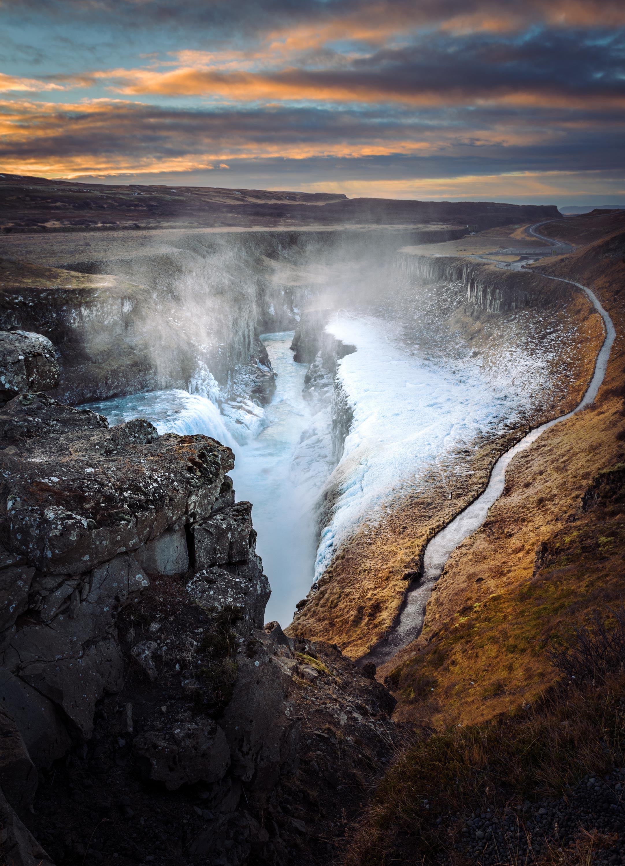 Gullfoss Waterfall   Icelandica - Gullfoss Waterfall   Icelandica - Icelandica   Dani Vottero, Travel Photography