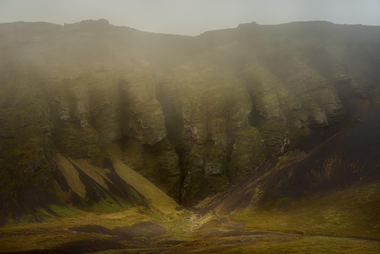 The Cliff (road to Eyja og Miklaholtshreppur, Vesturland Region - 2015) - The Cliff (road to Eyja og Miklaholtshreppur, Vesturland Region - 2015) - Icelandica | Dani Vottero, Travel Photography