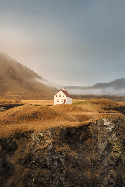 Solitary House (Snaefellsness Peninsula - 2015)  - Solitary House (Snaefellsness Peninsula - 2015)  - Icelandica   Dani Vottero, Travel Photography