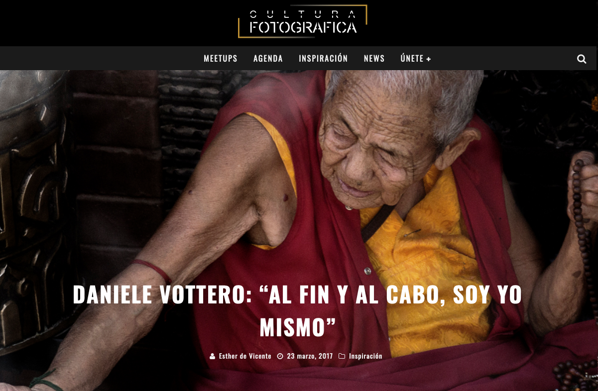 Cultura Fotográfica   Entrevista a Dani Vottero - SCRAPBOOK - Scrapbook   Prensa y Publicaciones   Dani Vottero