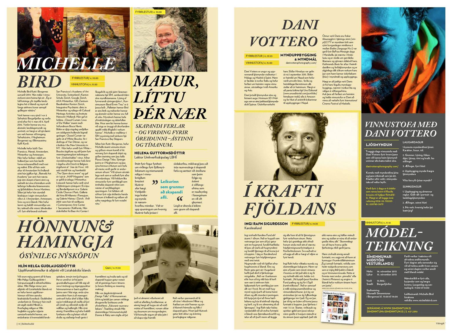 Skessuhorn Magazine | Dani Vottero, fotografía de viajes - SCRAPBOOK - Scrapbook | Prensa y Publicaciones | Dani Vottero