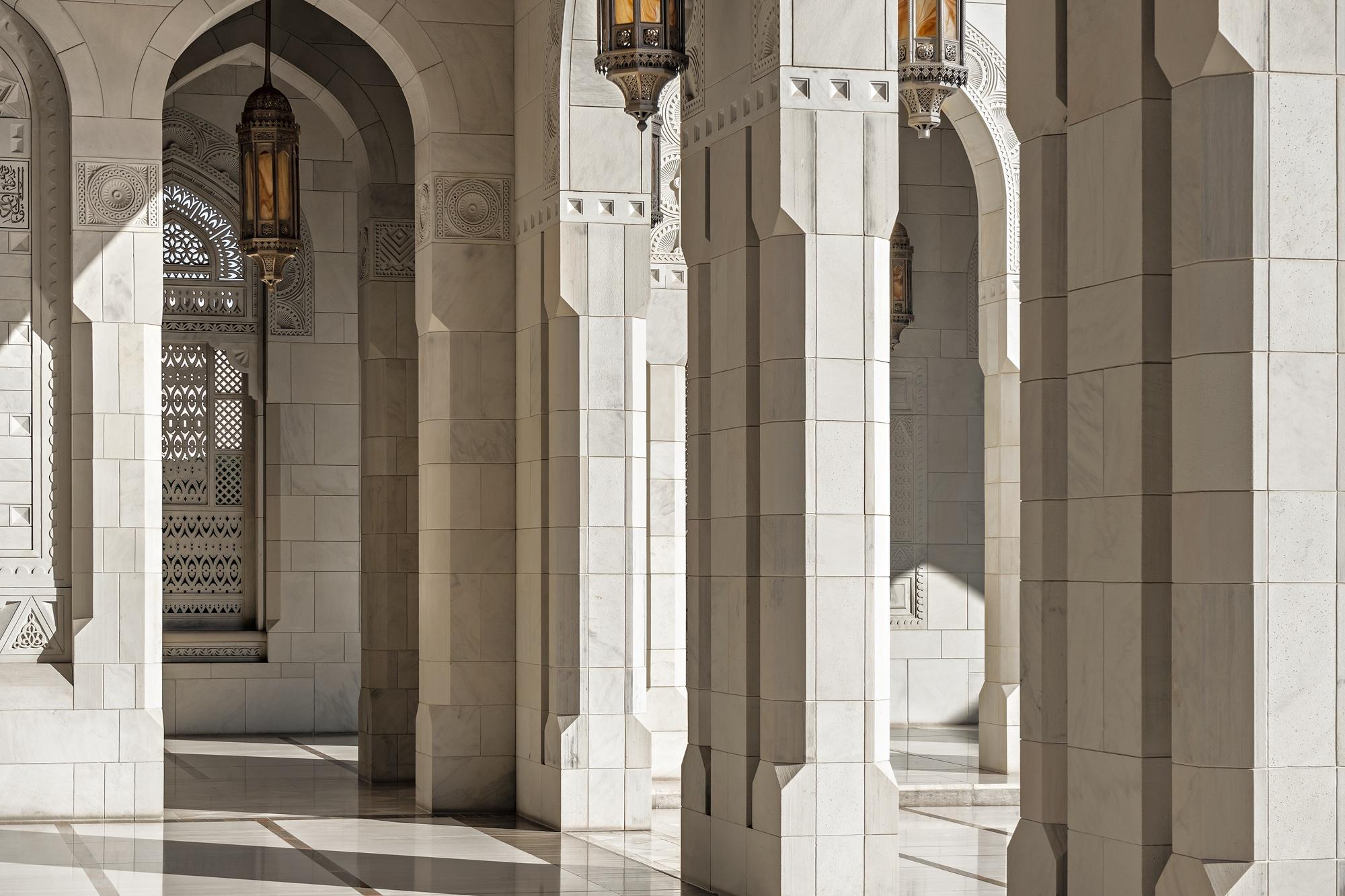 Mezquita del Sultán Qaboos, Mascate | Dani Vottero, fotógrafo de arquitectura - ARQUITECTURA - Fotografía de Arquitectura | Dani Vottero
