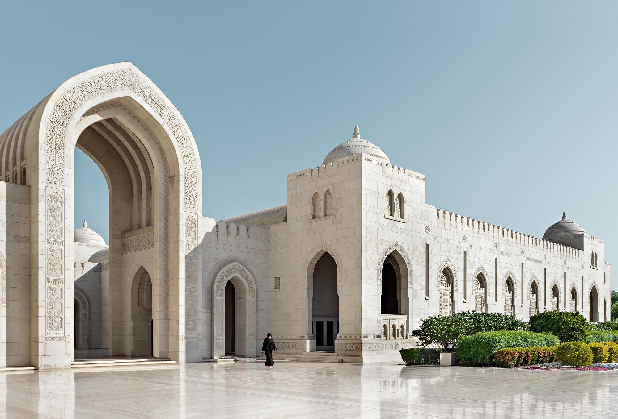 Dani Vottero, fotógrafo de arquitectura | Mezquita Sultán Qaboos, Oman - Dani Vottero, architectural photographer | Sultan Qaboos Grand Mosque, Oman - Architecture Photography | Dani Vottero