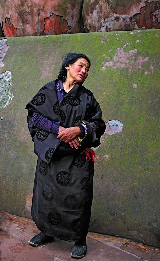 Mujer tibetana - Historias nunca contadas - Daniel Montero , Fotografía