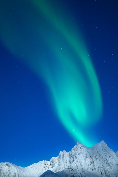 Volcán de luz - Apuntes desde la Isla de Senja (Noruega, 2013) - Daniel Montero , Fotografía