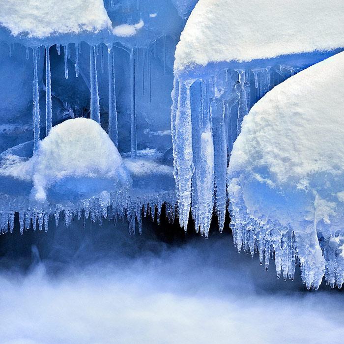 Medusas de hielo - La mirada oculta - Daniel Montero , Fotografía