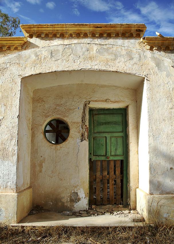 puerta de un minero - presentes del Pasado - Presentes del pasado Exposicion