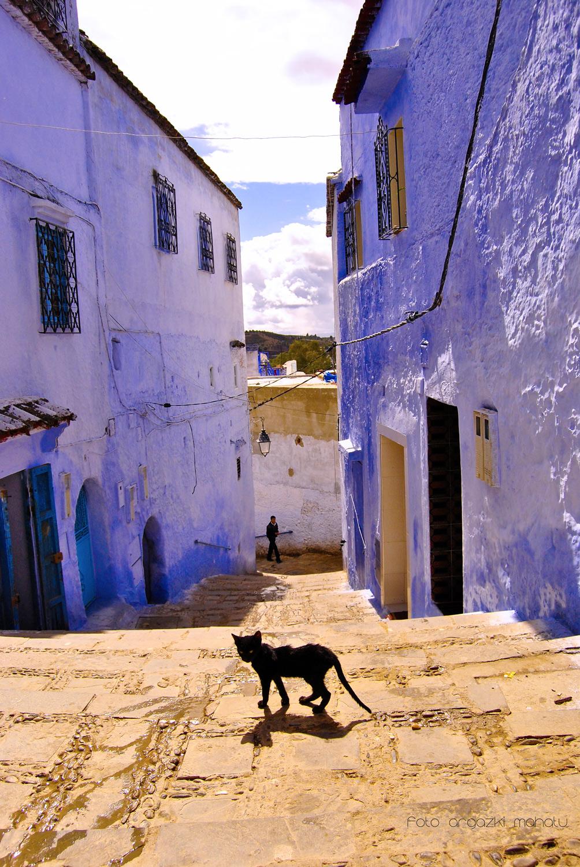 CHEEFCHAOUEN. MOROCCO - RECORRIENDO CAMINOS - ARGAZKI MAHATU, Photography & films.