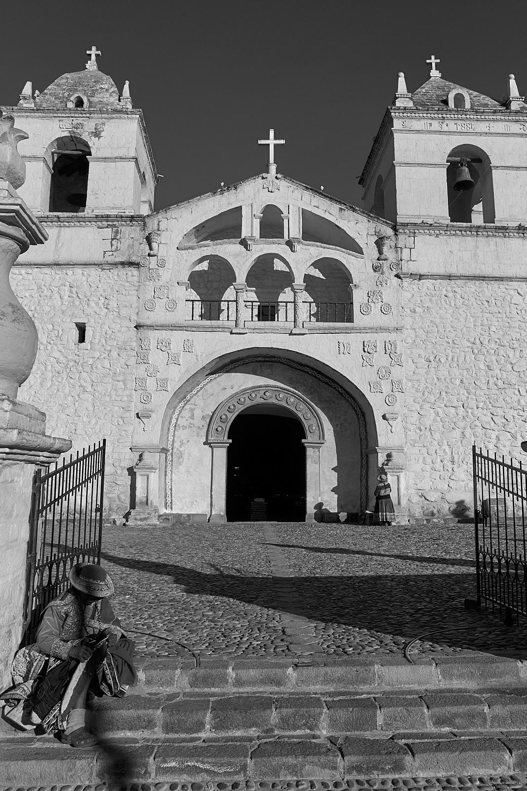 Iglesia Santa Ana de Maca, Provincia de Caylloma, Perú. - Single Shot - Eduardo Cerda-Sánchez, Fotografia