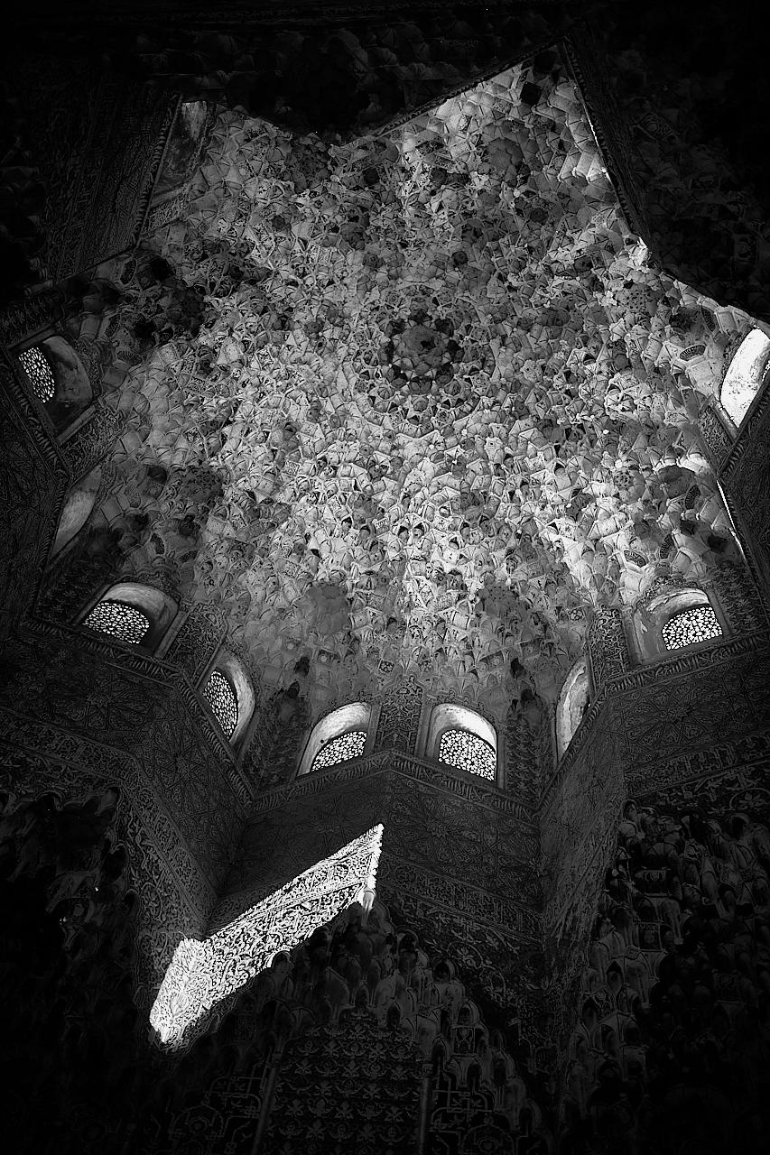Una de las salas de palacio nazarí de Los Leones, La Alhambra. Granada España. - Single Shot - Eduardo Cerda-Sánchez, Fotografia