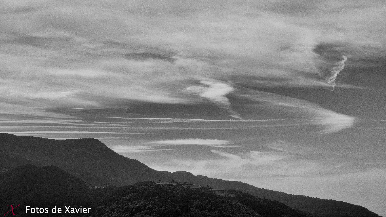 Pinceladas de viento - Blanco y negro - Fotos de Xavier. Fotografia de naturaleza y paisaje en blanco y negro. Xavier Linares