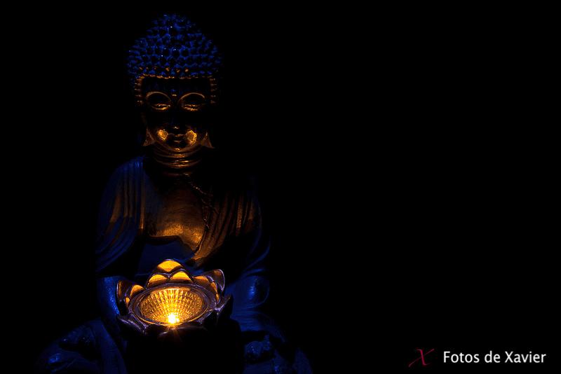 Buda - Luz - Fotos de Xavier. Fotografia de naturaleza y paisaje. Xavier Linares
