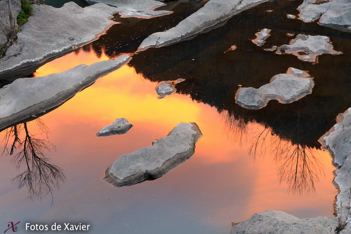 Reflejos - Luz - Fotos de Xavier. Fotografia de naturaleza y paisaje. Xavier Linares