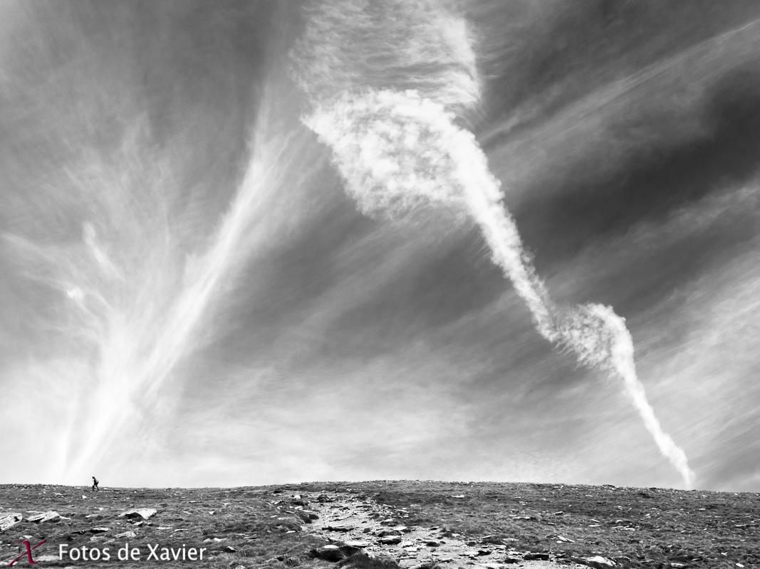 Caminando - Blanco y negro - Fotos de Xavier. Fotografia de naturaleza y paisaje en blanco y negro. Xavier Linares
