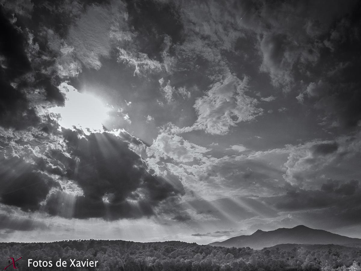 Luces - Blanco y negro - Fotos de Xavier. Fotografia de naturaleza y paisaje en blanco y negro. Xavier Linares