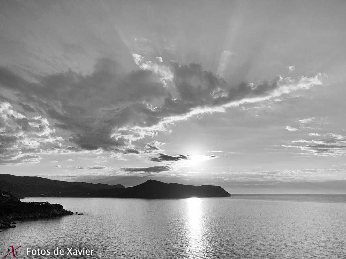 Cap Norfeu - Blanco y negro - Fotos de Xavier. Fotografia de naturaleza y paisaje en blanco y negro. Xavier Linares