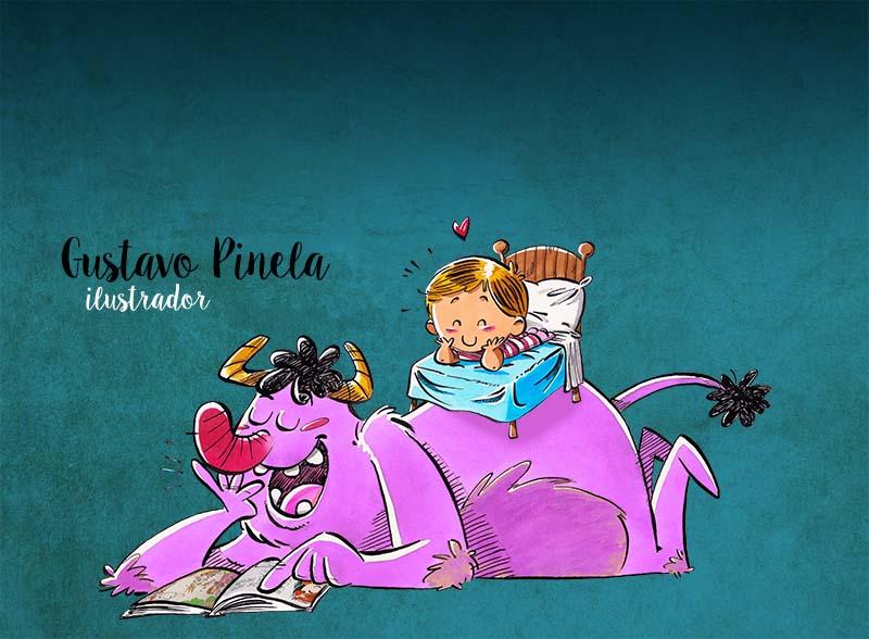 Personal - Gustavo Pinela, ilustrador