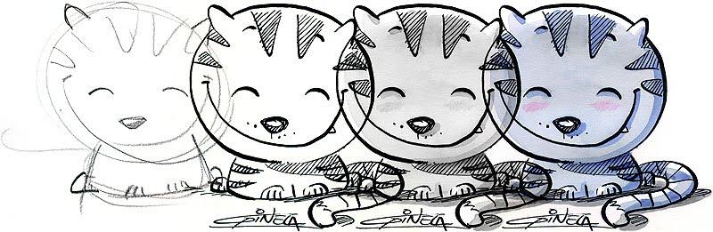 Bocetos - Gustavo Pinela, ilustrador