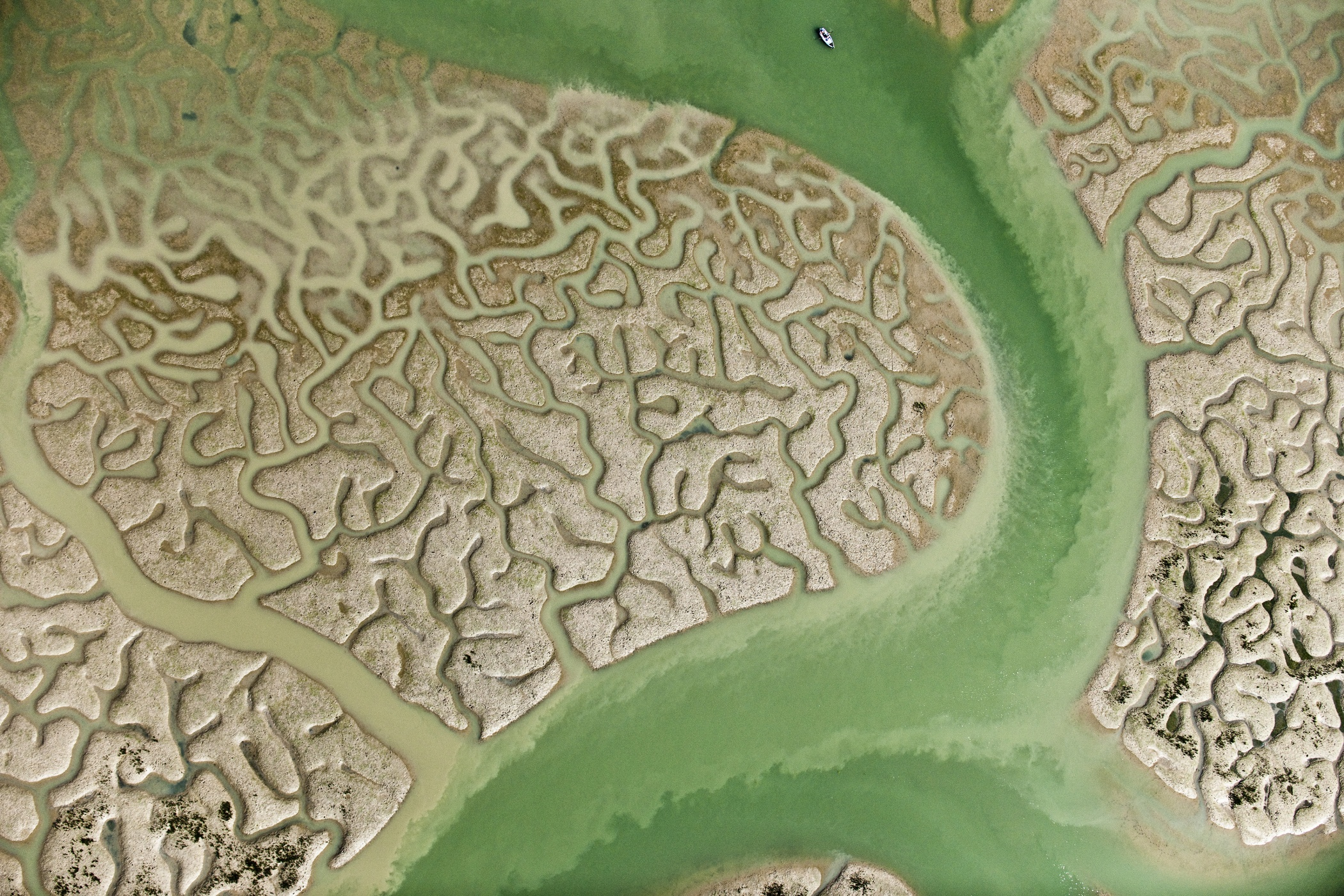 La isla Mínima - Author series 1. Fractals - Hector Garrido, Aerial and human photography