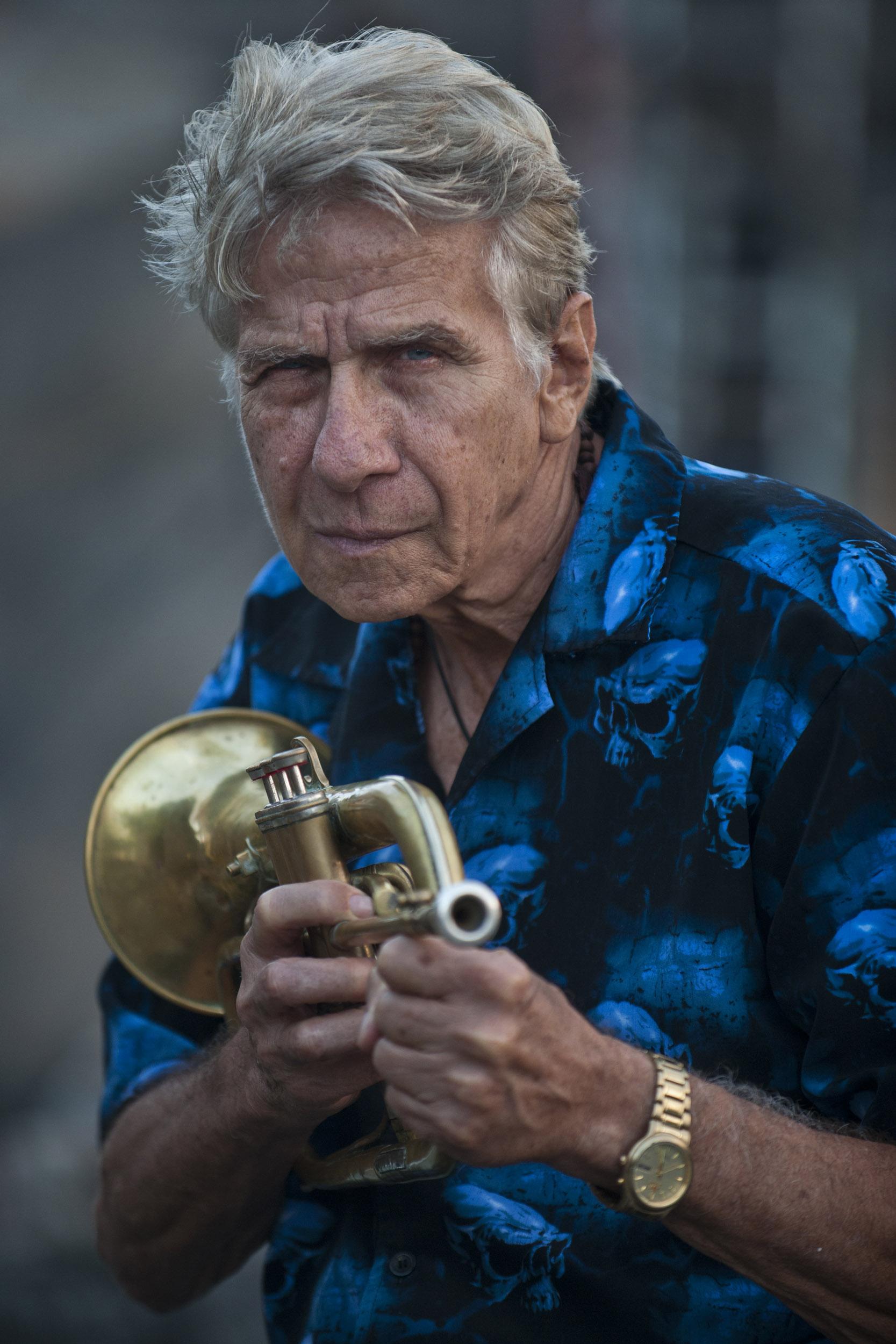 Boby Carcassés, musician - Illuminated Cuba - Hector Garrido, Aerial and human photography