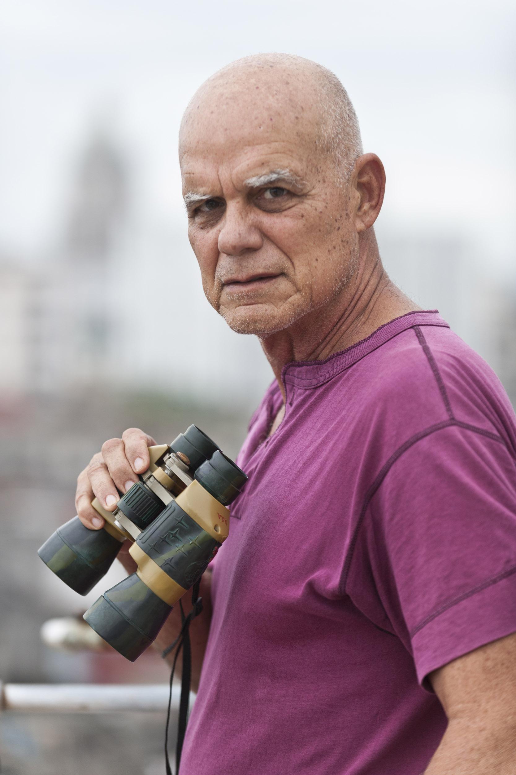 Pedro Juan Gutiérrez, writer - Illuminated Cuba - Hector Garrido, Aerial and human photography