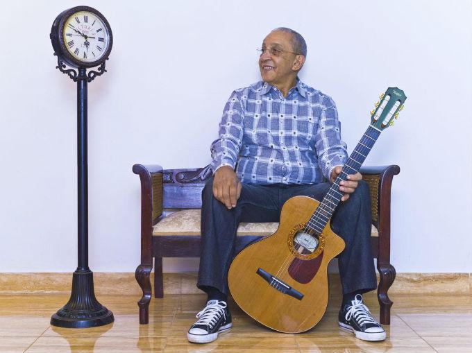 Juan Formel, musician - Illuminated Cuba - Hector Garrido, Aerial and human photography