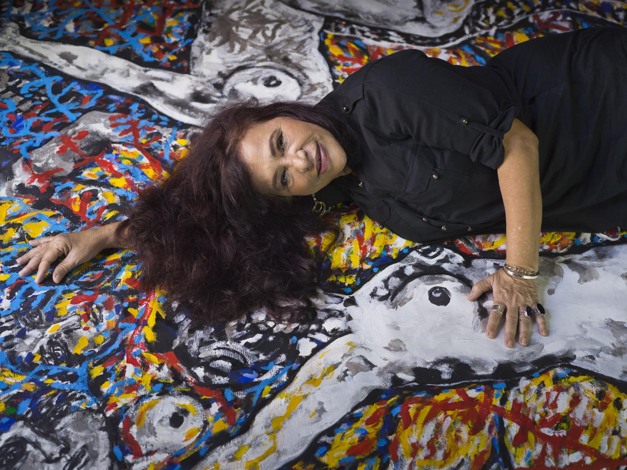 Zaida del Río, painter - Illuminated Cuba - Hector Garrido, Aerial and human photography