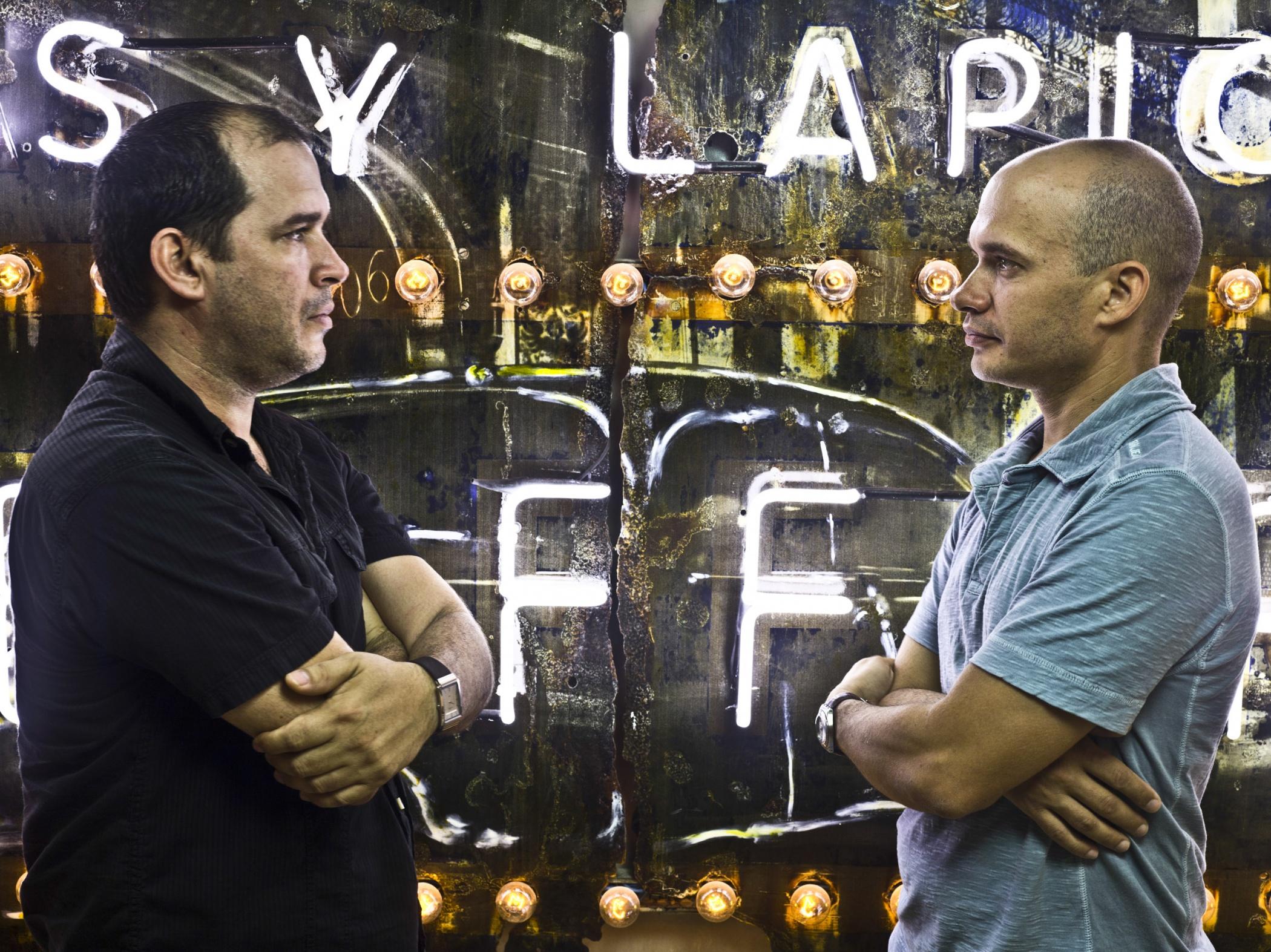 Kadir López y Kelvin López, painters - Illuminated Cuba - Hector Garrido, Aerial and human photography