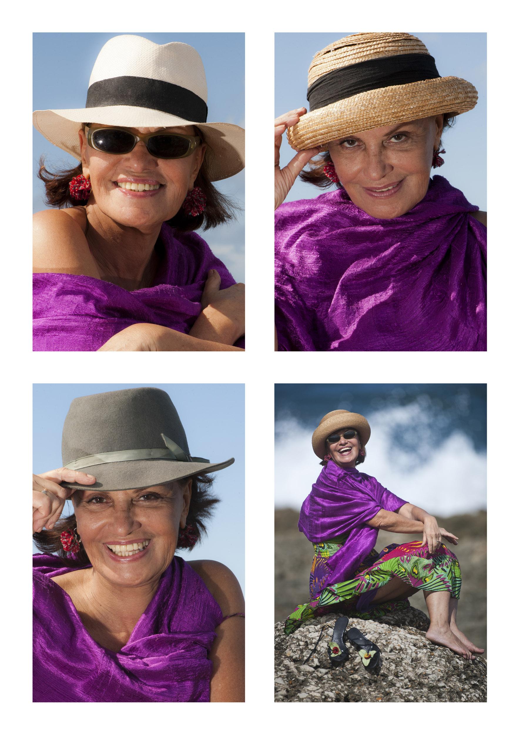 Myrtha Ibarra, actress - Illuminated Cuba - Hector Garrido, Aerial and human photography