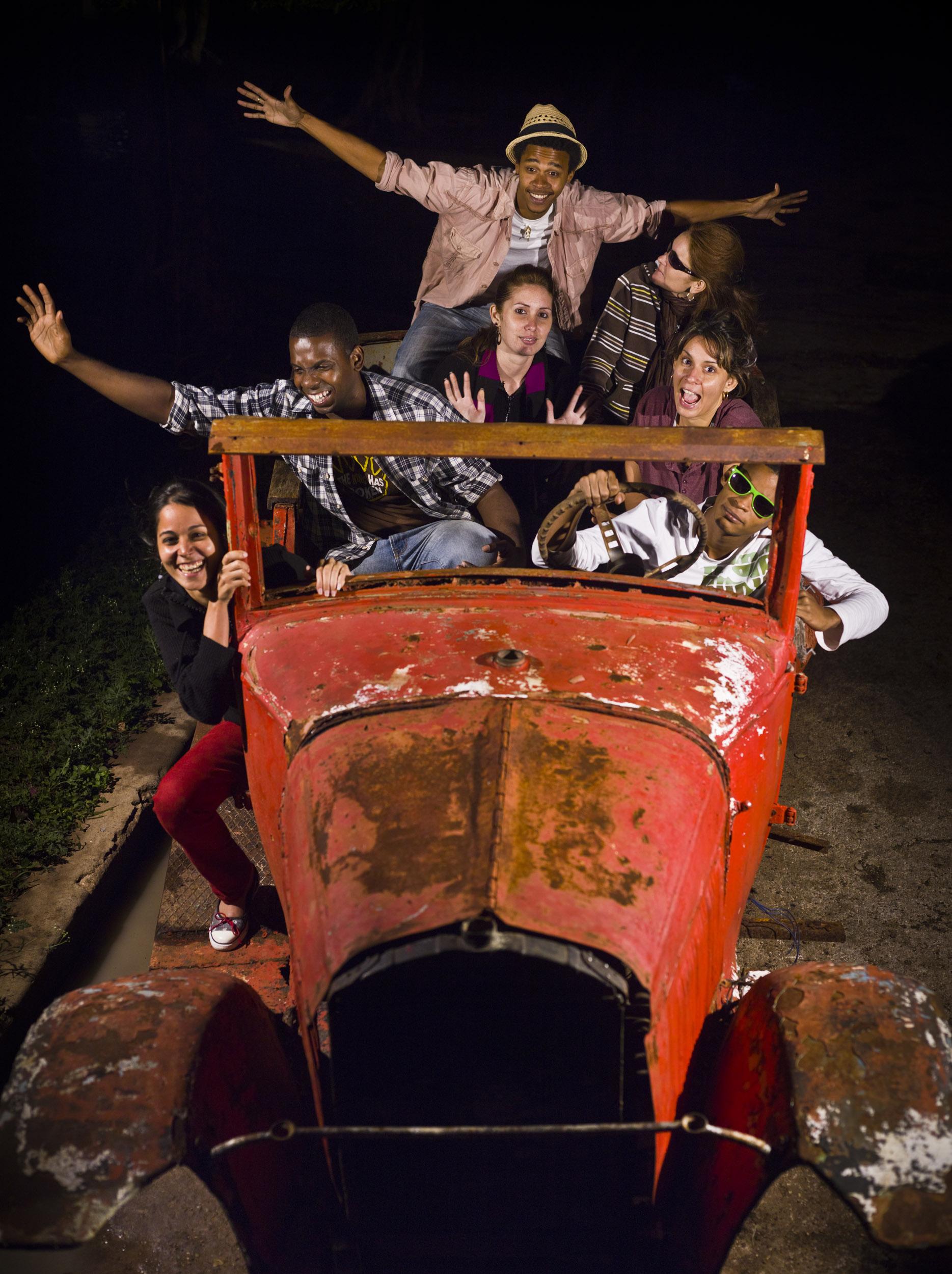 Colectivo F8, fotógrafos - Illuminated Cuba - Hector Garrido, Aerial and human photography
