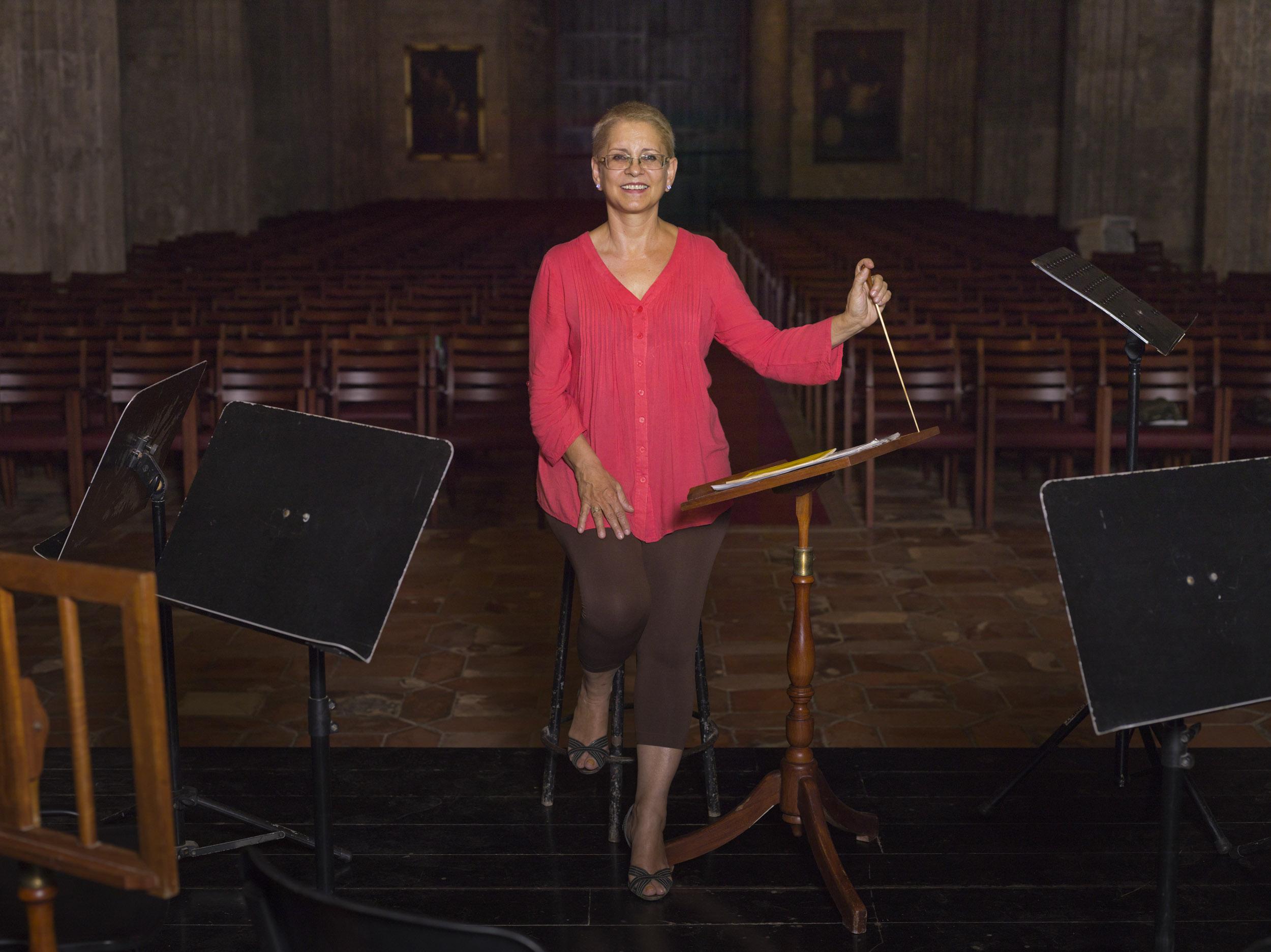 Zenaida Romeu, musician - Illuminated Cuba - Hector Garrido, Aerial and human photography