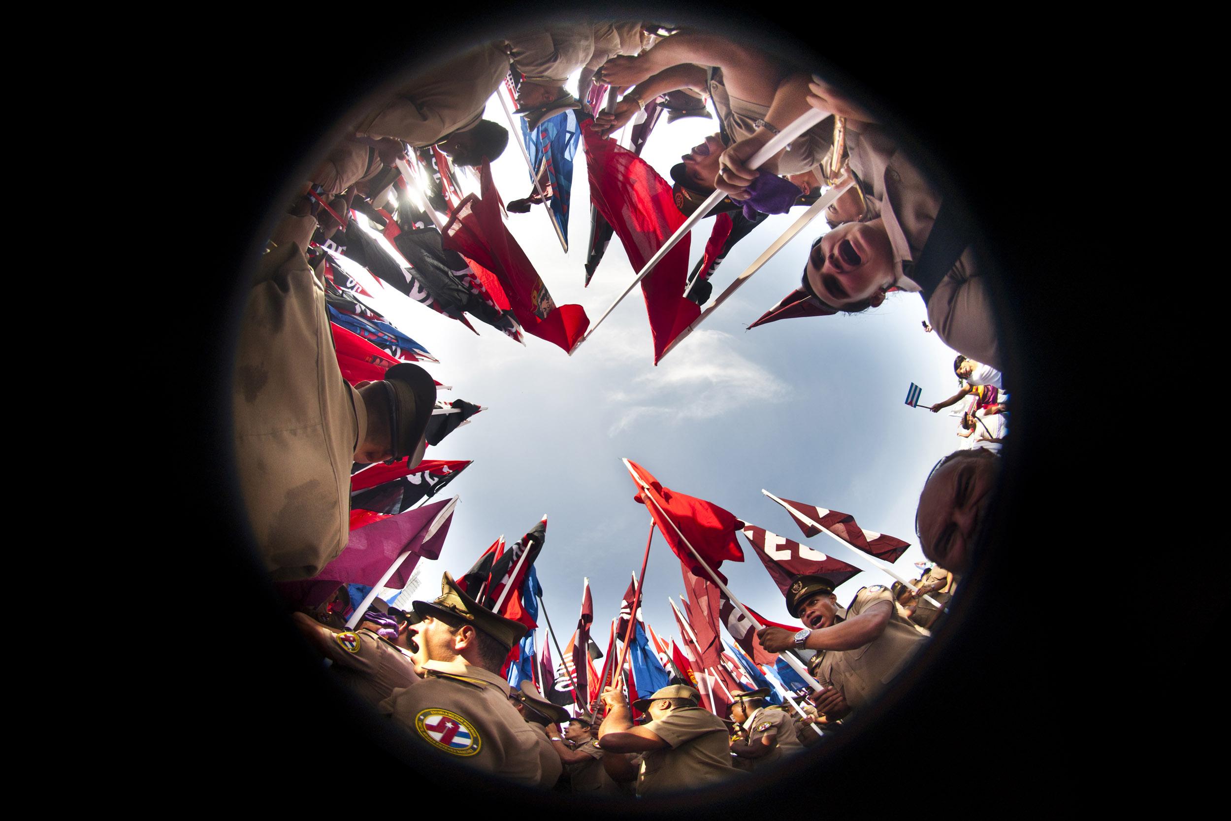 Bandera 03 - Prints 2. Ethnoland - Hector Garrido, Aerial and human photography