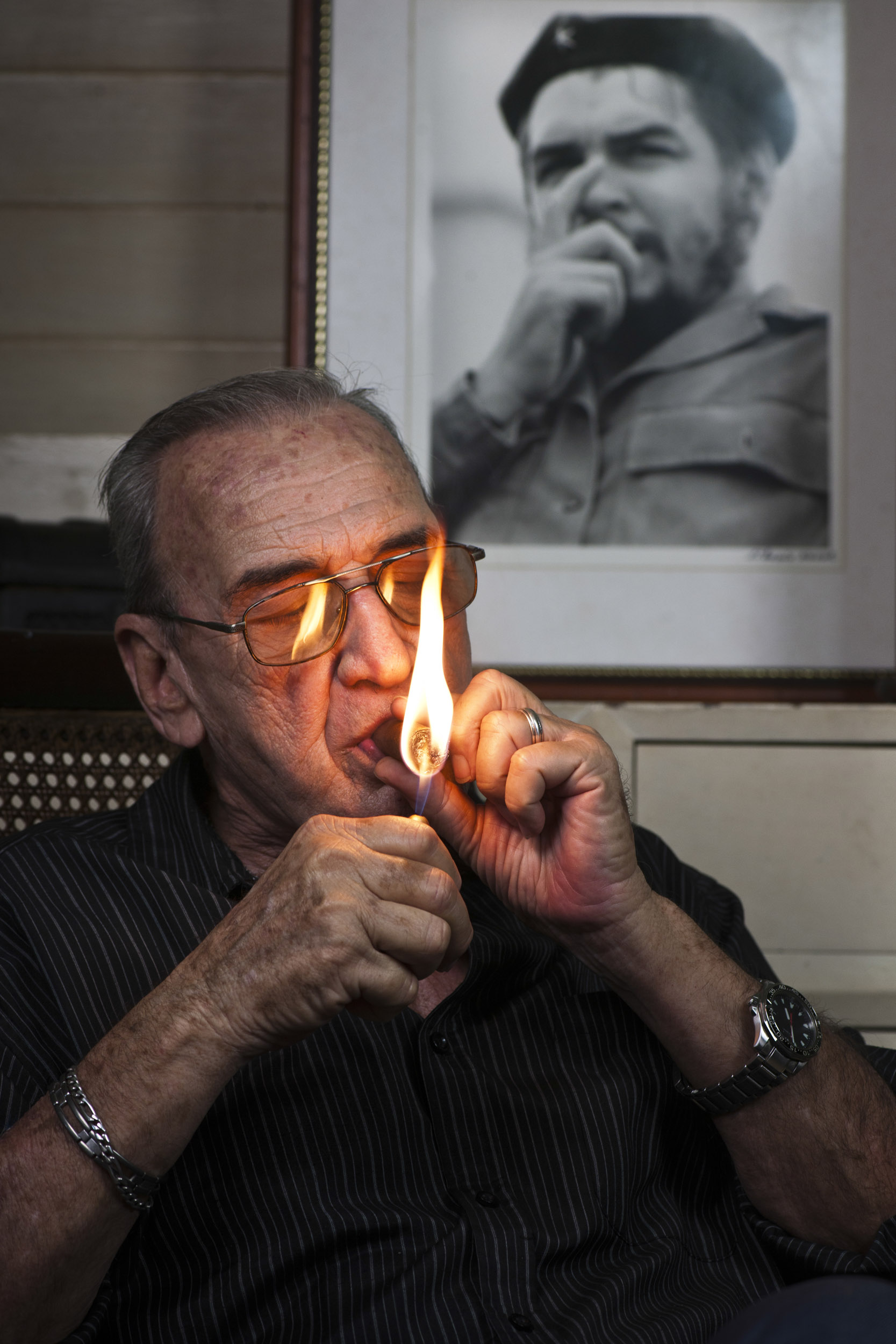 Liborio Noval, photographer - Illuminated Cuba - Hector Garrido, Aerial and human photography