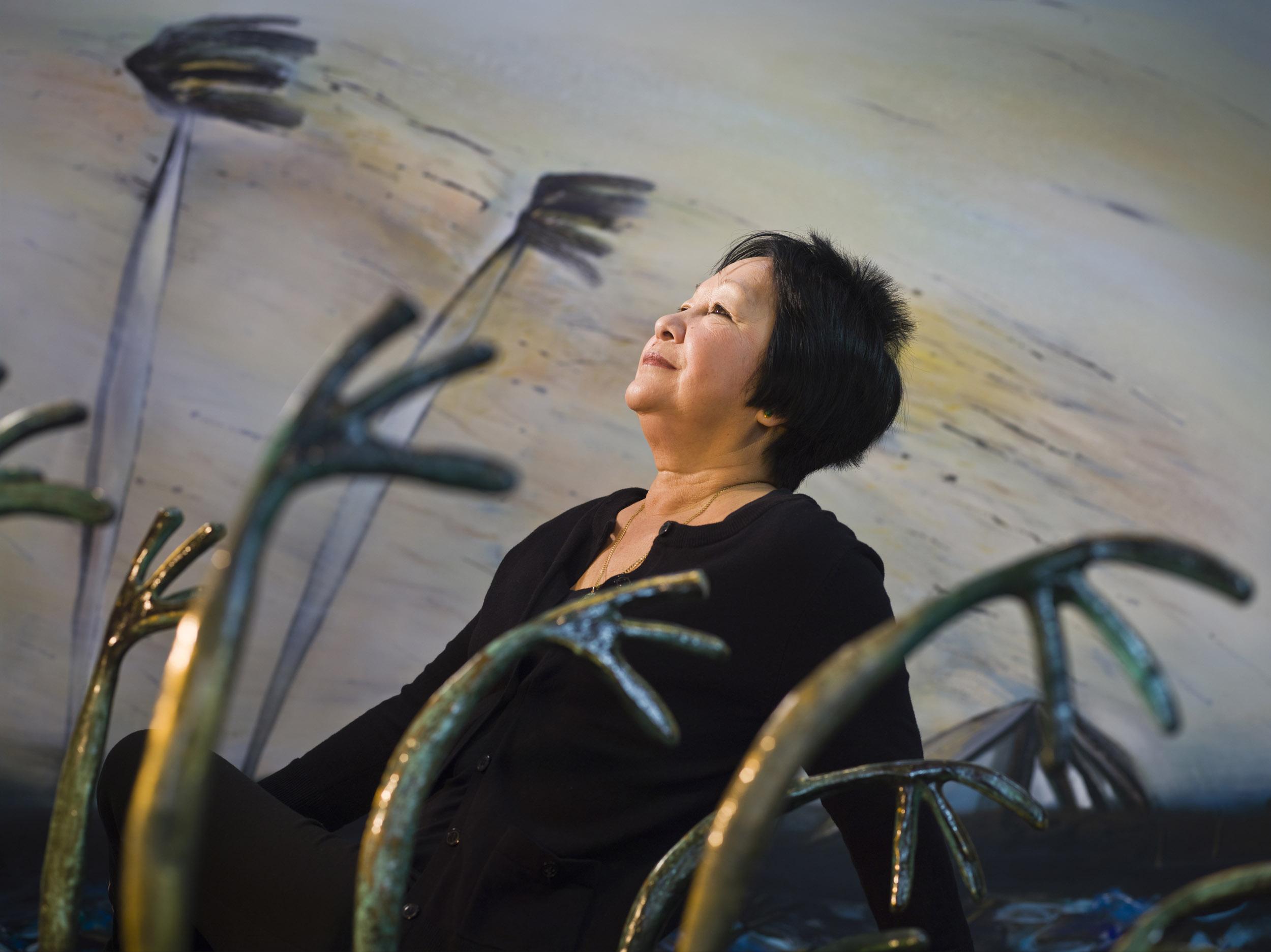 Flora Fong, painter - Illuminated Cuba - Hector Garrido, Aerial and human photography