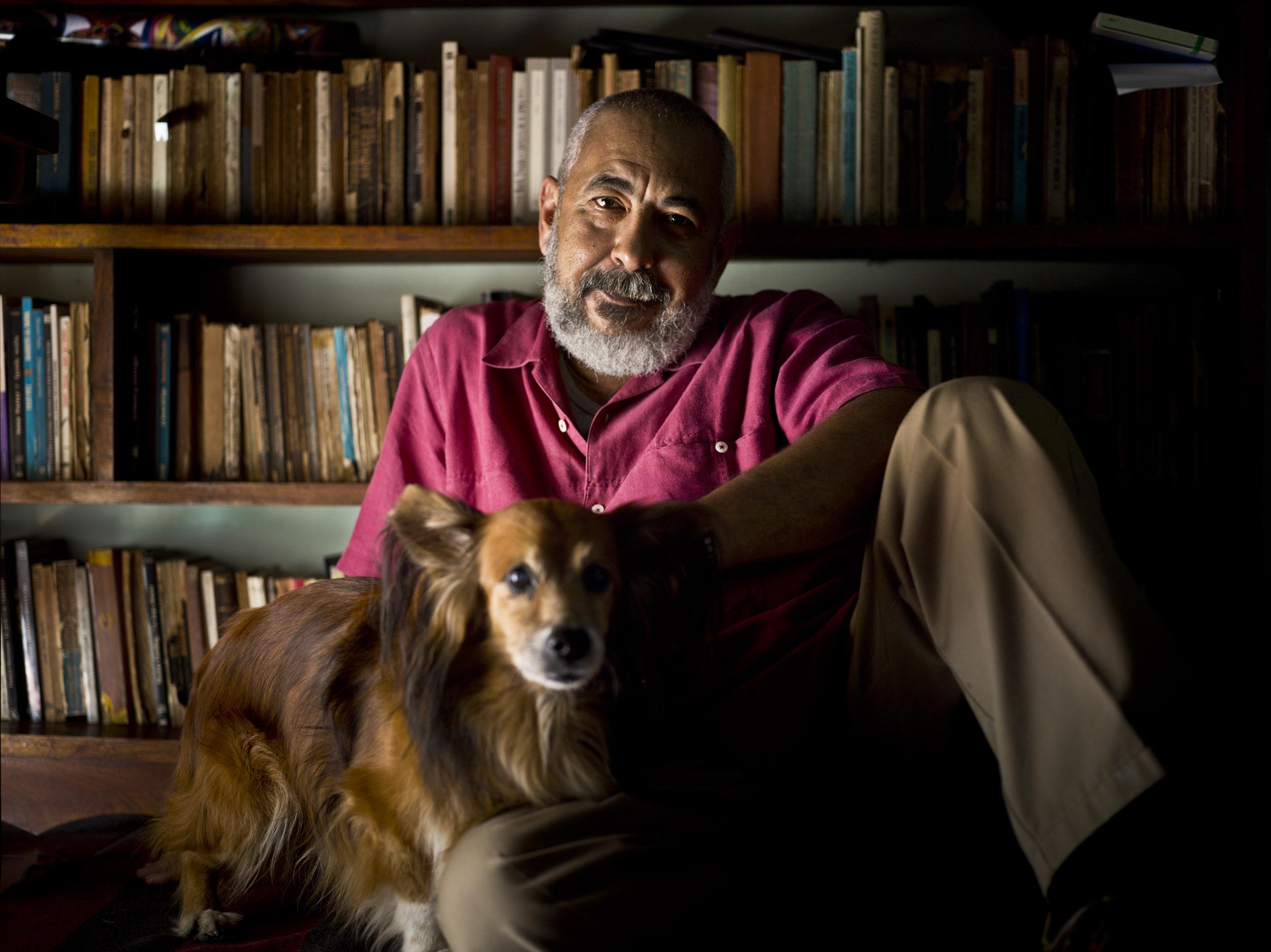 Leonardo Padura, writer - Illuminated Cuba - Hector Garrido, Aerial and human photography