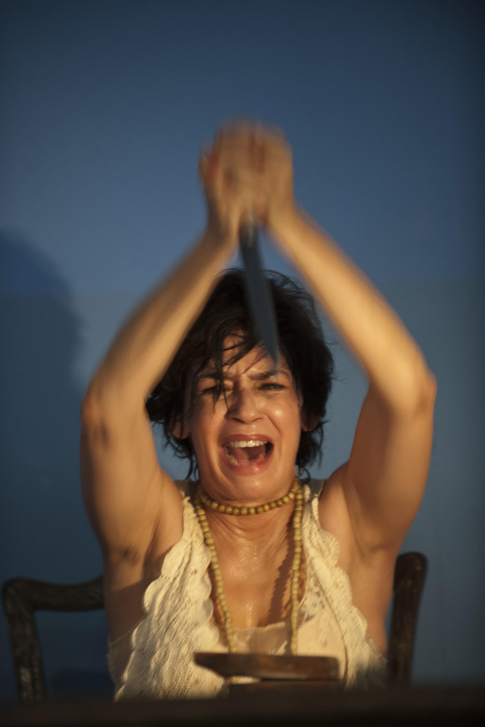 Broselianda Hernández, actress - Illuminated Cuba - Hector Garrido, Aerial and human photography