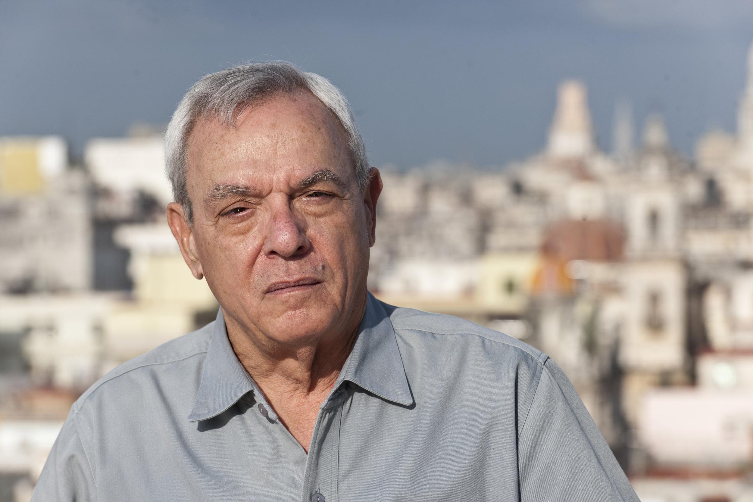 Eusebio Leal, historian - Illuminated Cuba - Hector Garrido, Aerial and human photography