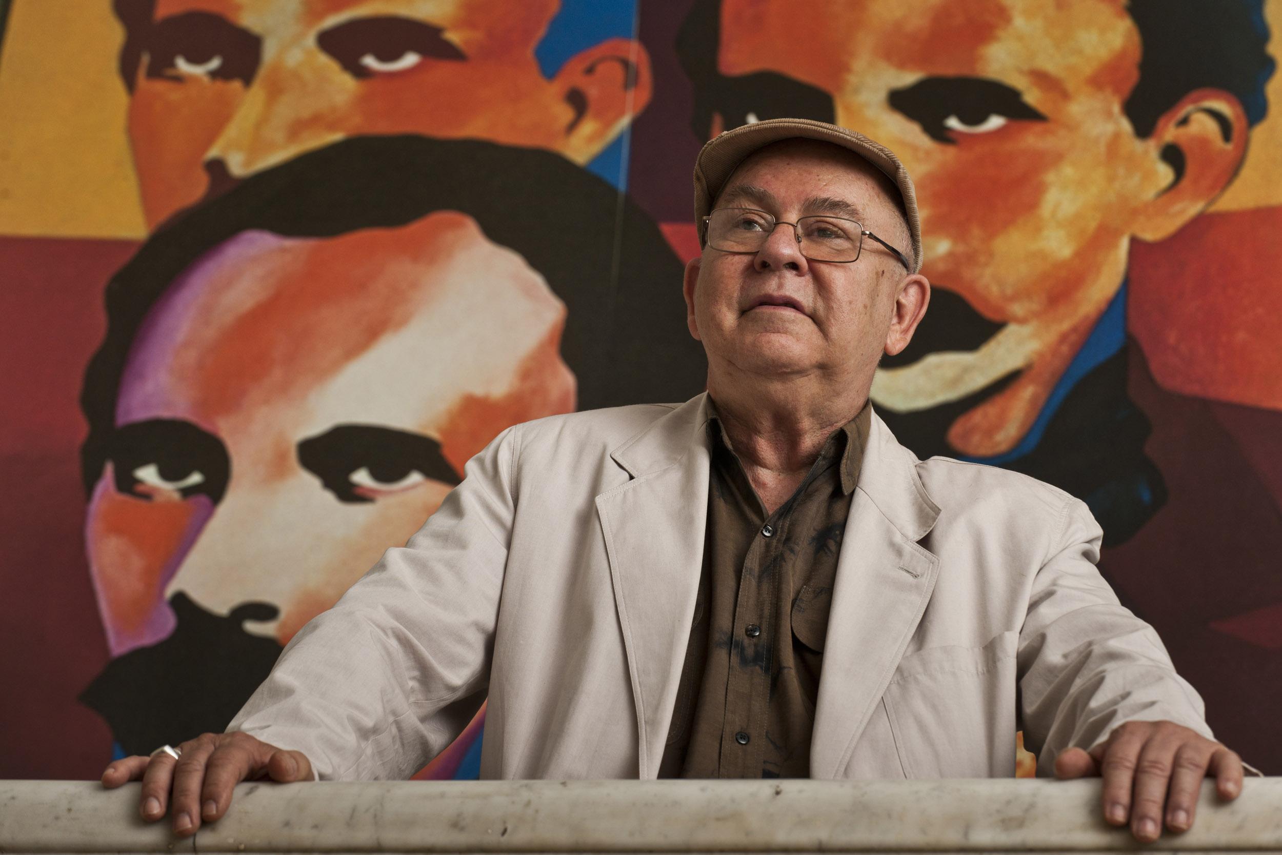 Miguel Barnet, writer - Illuminated Cuba - Hector Garrido, Aerial and human photography