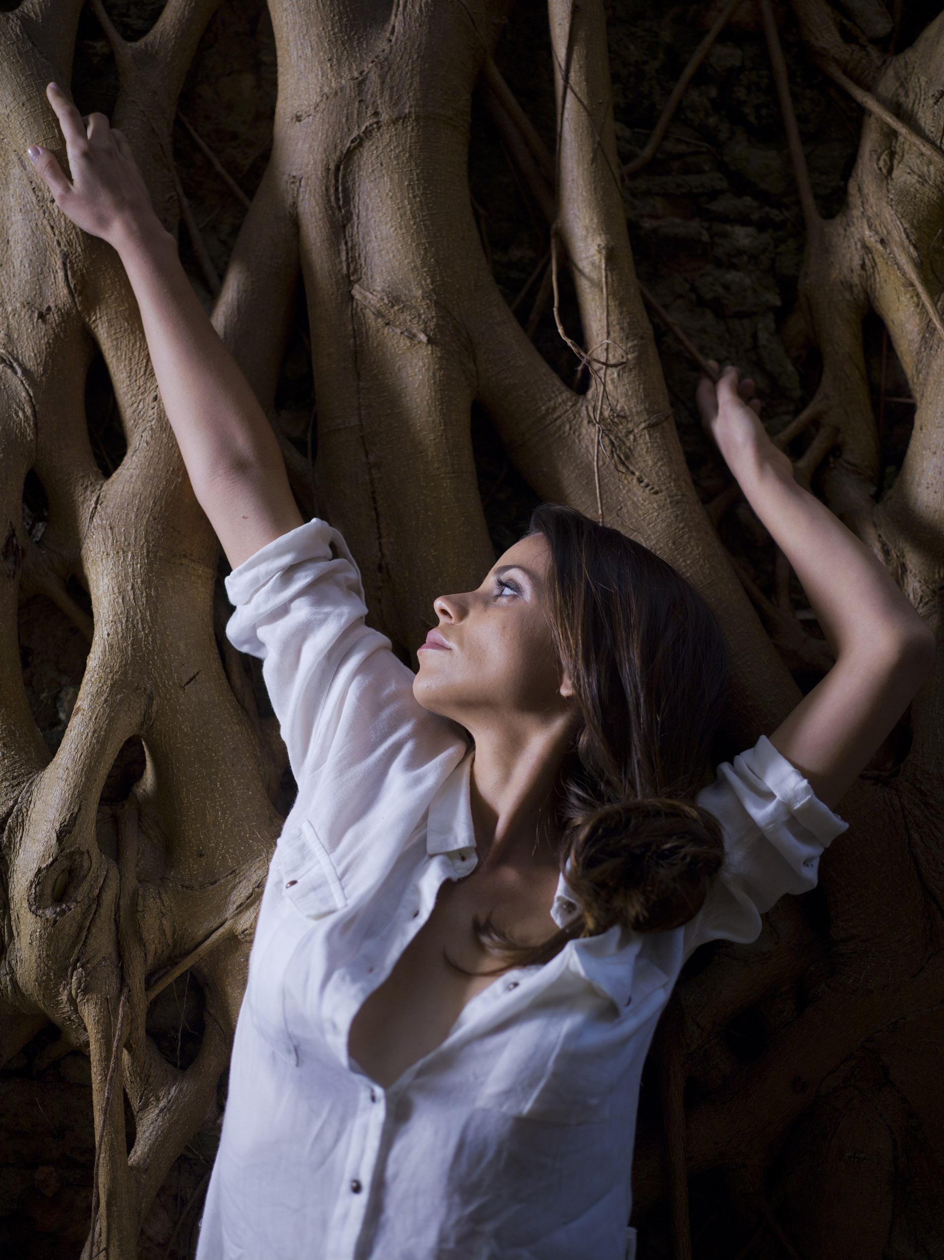 Mirielis Cejas, actress - Illuminated Cuba - Hector Garrido, Aerial and human photography