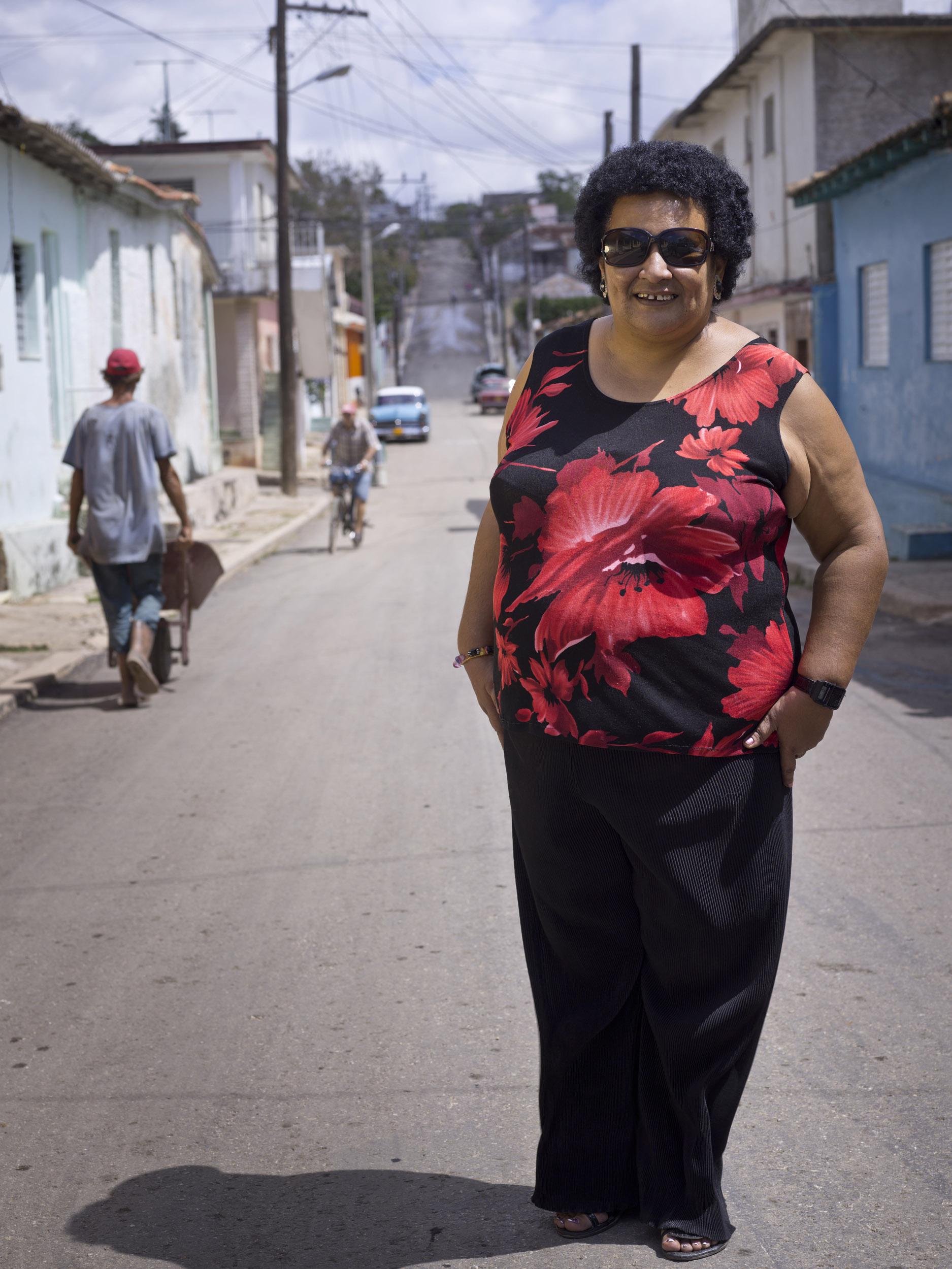 Tomasita Quiala, repentista - Illuminated Cuba - Hector Garrido, Aerial and human photography